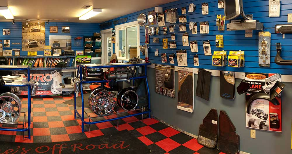 Mike's Off Road Bozeman Showroom