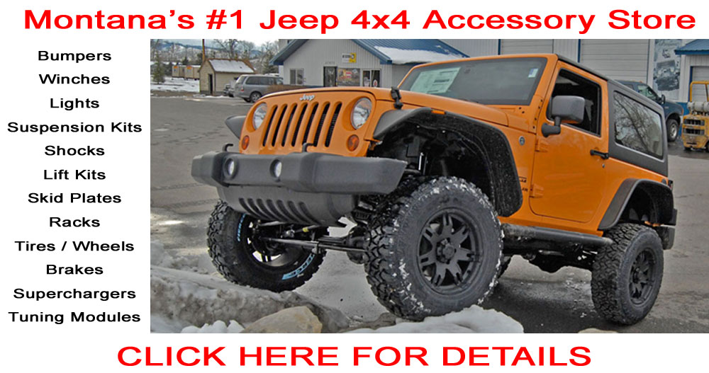 Montana Off Road 4x4 Jeep Accessories