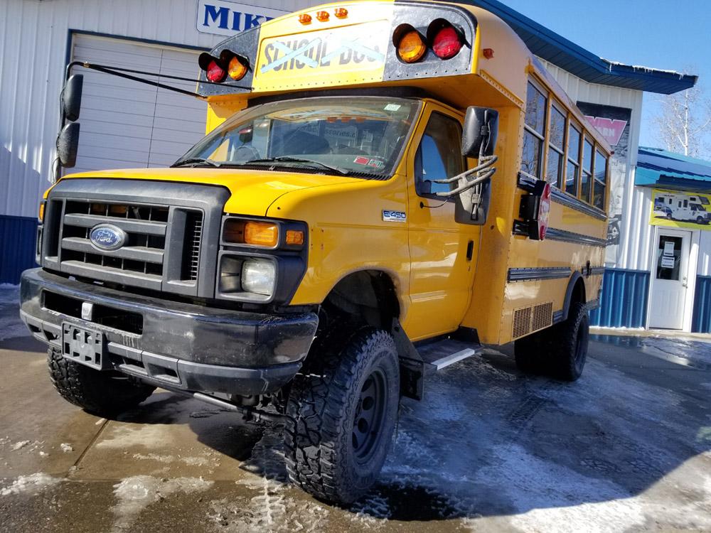 2012 Ford E450 School Bus