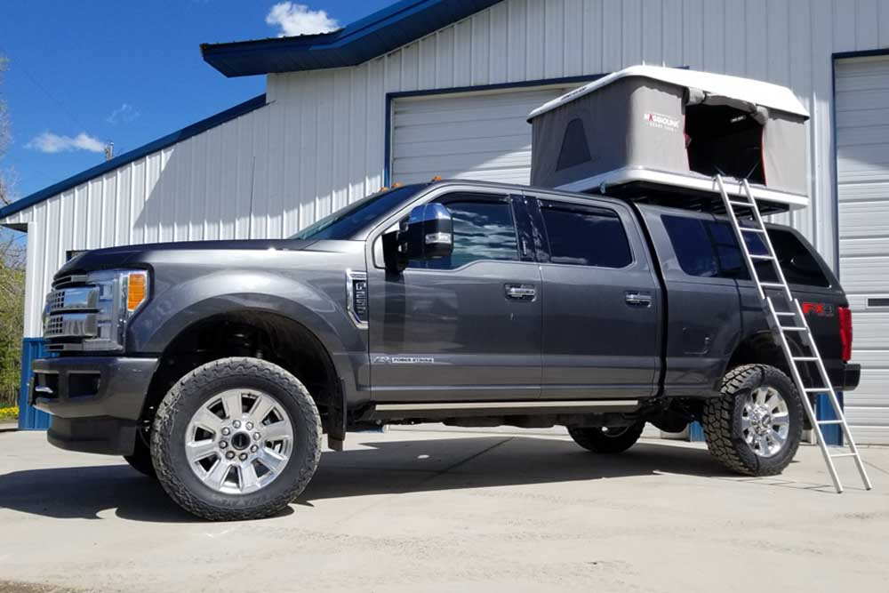 F250 Camper Shell >> Mike's Off Road Projects | Montana Performance Builds