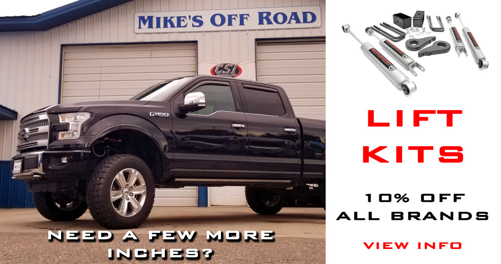 2018 July Promo Lift Kits Discount