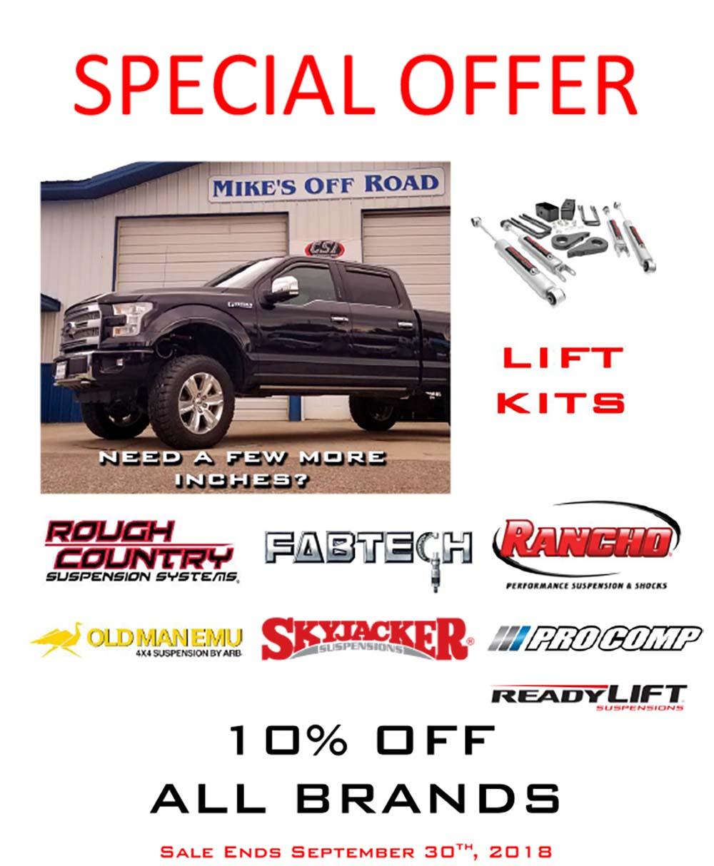 Lift Kit Brands >> Lift Kit Parts Lift Kit Installs Suspension Upgrade