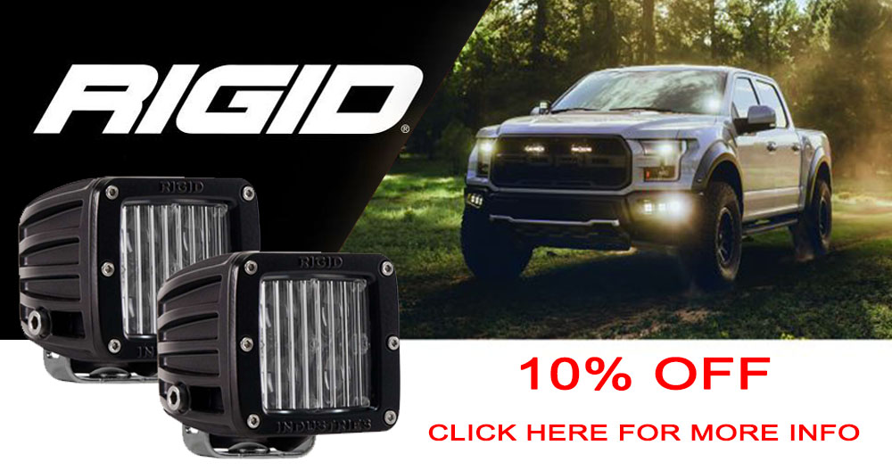 2019 Rigid D Series Lights Promo